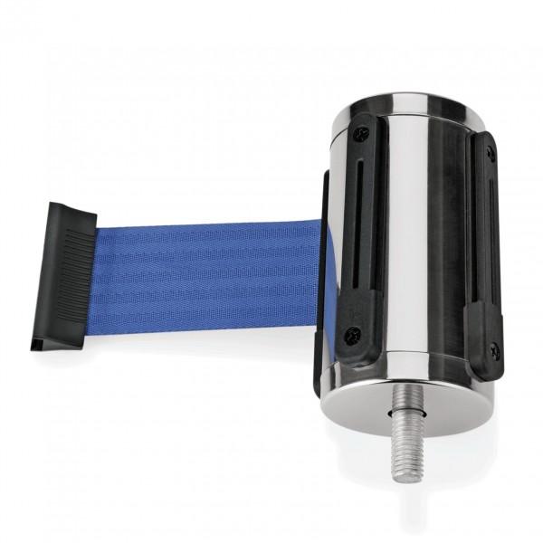 Einzelgurtband in blau, Länge 2 Meter, für Abgrenzungspfosten Highflex 1114 100