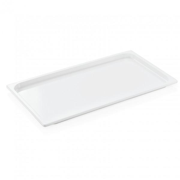 GN Behälter 1/1-020 mm, weiß, Melamin, Eco