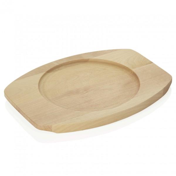 Ersatzuntersetzer für Servierpfanne 3528 180, Holz