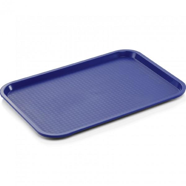 Tablett, 45,5 x 35,5 cm, dunkelblau, Polypropylen