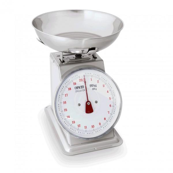 Waage bis 20 kg, Metallgehäuse lackiert