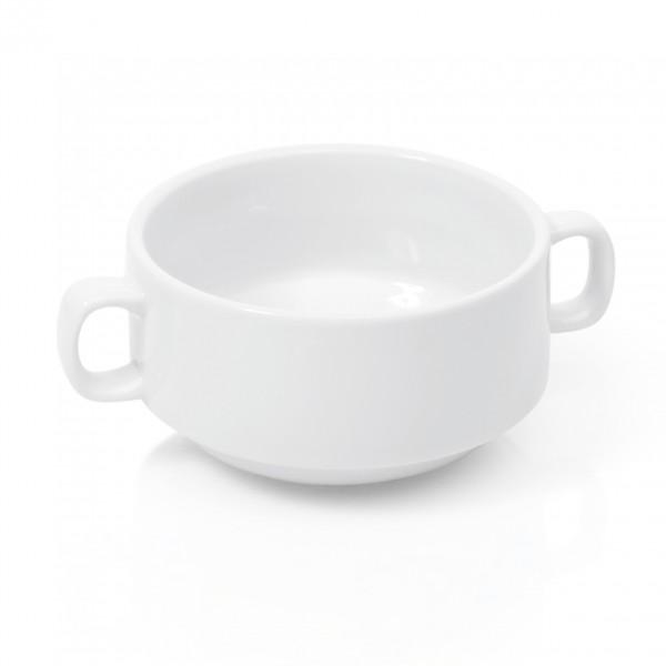 Suppentasse mit Henkelgriffen, 0,26 ltr., Porzellan