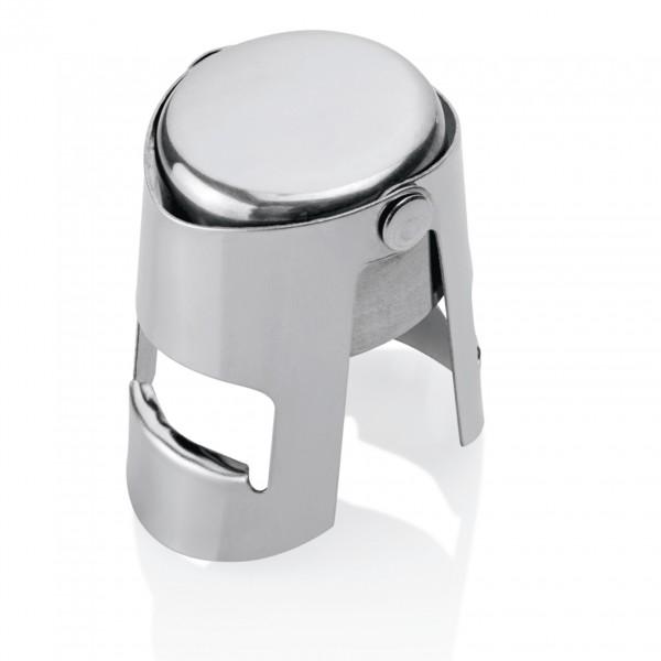 Sektflaschenverschluss, Ø 3,5 cm, verchromt