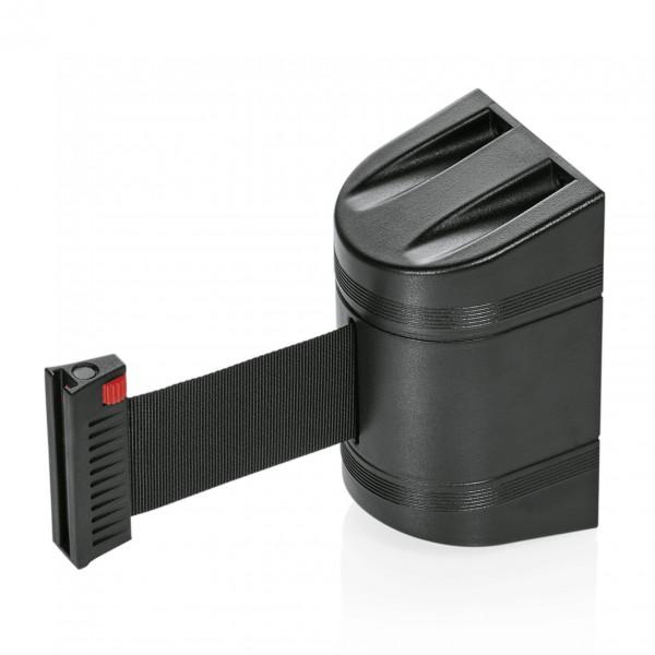 Gurtband Lightflex für Wandmontage, 2 m, schwarz