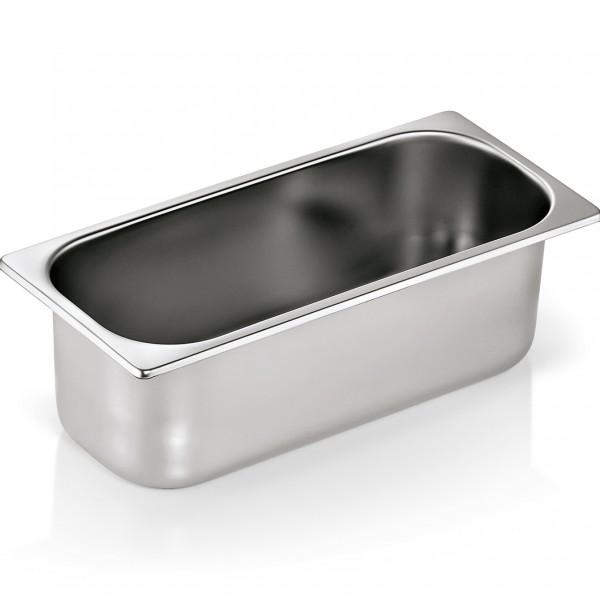 Eisbehälter, 5,0 ltr., 36 x 16,5 x 12 cm, Chromnickelstahl
