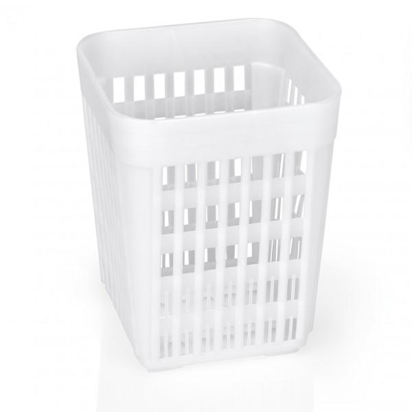 Besteckkorb ohne Einteilungen, 10,7 x 10,7 x 14 cm, Polypropylen