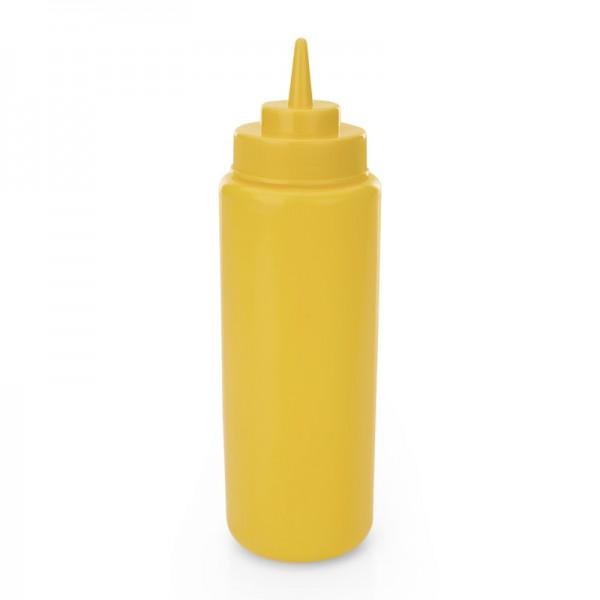Quetschflasche, 0,70 ltr., gelb, Polyethylen