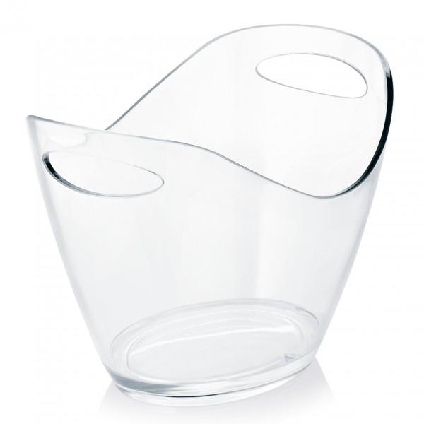 Champagnerkühler, 3,5 ltr., transparent, Kunststoff