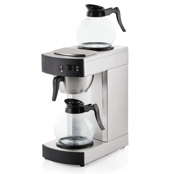 Kaffeemaschine, 1,8 ltr., 36 x 19,5 x 42,5 cm, Chromnickelstahl