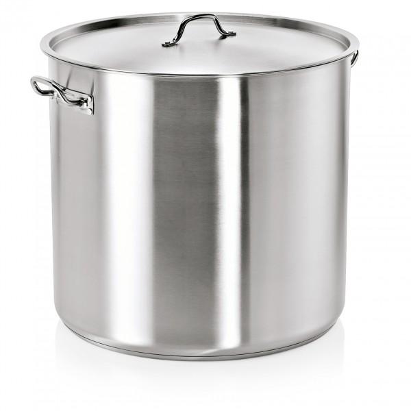 Suppentopf mit Deckel, Ø 45 cm, 68 ltr., Edelstahl