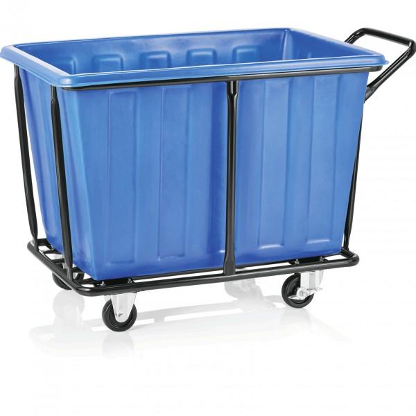 Wäschewagen, 330 ltr., 118 x 72 x 82 cm, Stahl/Polyethylen