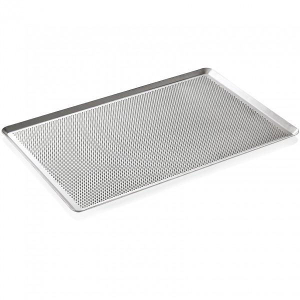 Backblech mit Perforierung, 60 x 40 x 2 cm, Aluminium