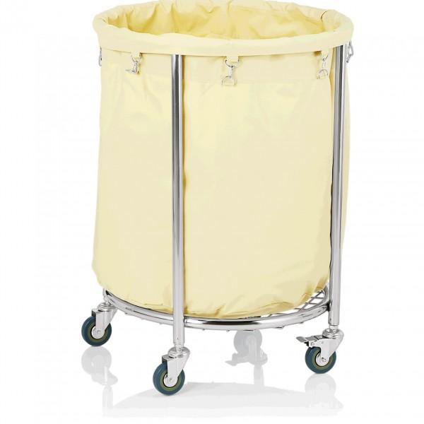 Wäschewagen, Ø 60 cm, Chromnickelstahl