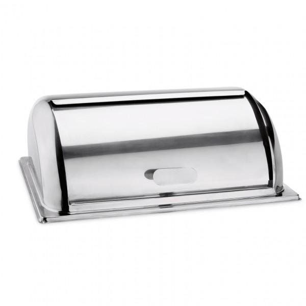Roll Top Deckel mit Edelstahlgriff