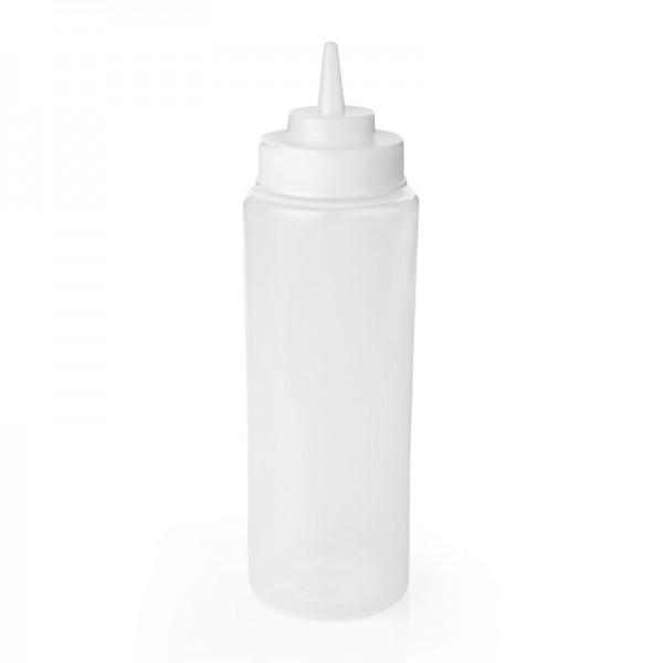 Quetschflasche, 0,70 ltr., transparent, Polyethylen