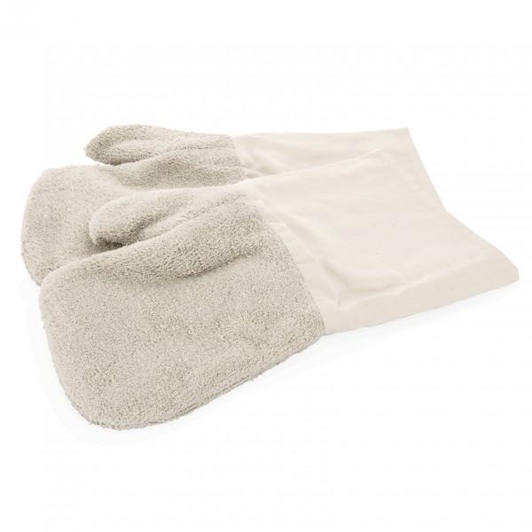 Hitzefausthandschuhe, 2-teilig, 40 cm, Baumwolle