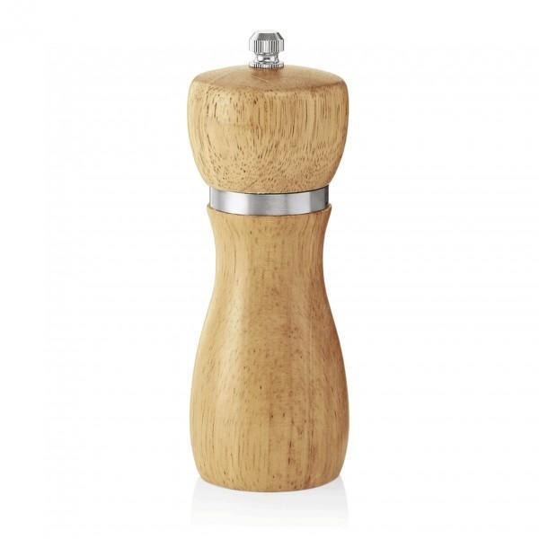 Pfeffermühle mit Keramikmahlwerk, 13 cm, Holz