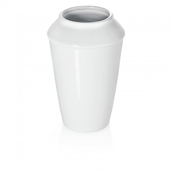 Vase, 22 cm, Porzellan