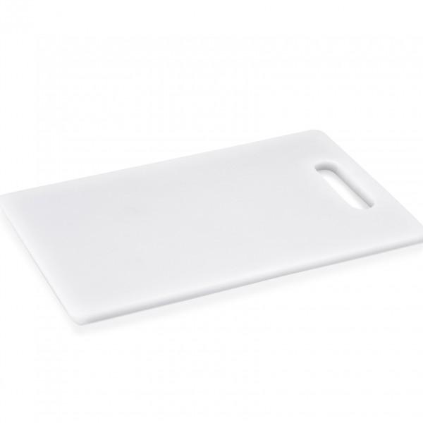 Schneidbrett mit Griffloch, 24 x 15 x 1 cm, Polyethylen
