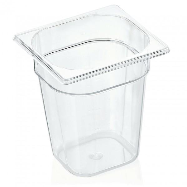 GN Behälter 1/6-200 mm, Polycarbonat