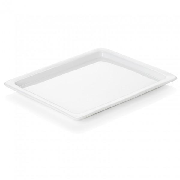 Platte GN 1/2-010 mm, Porzellan