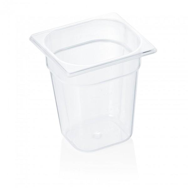 GN Behälter 1/6-200 mm, Polypropylen