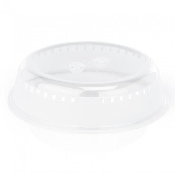 Tellerglocke mit zwei Griffmulden, Ø 23 cm, Polypropylen