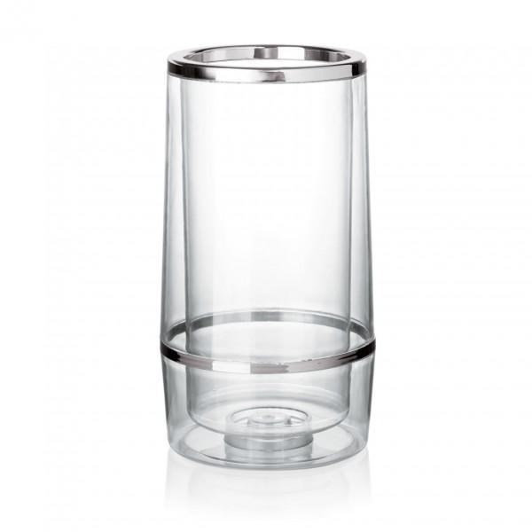 Flaschenkühler, Ø 11,5 cm, SAN Kunststoff
