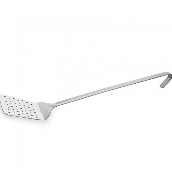 Backschaufel, perforiert, 38 cm, Chromnickelstahl