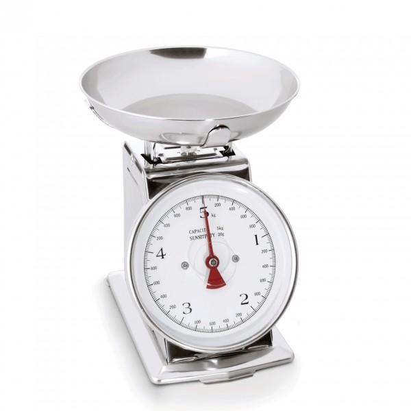 Waage bis 5 kg, Metallgehäuse lackiert
