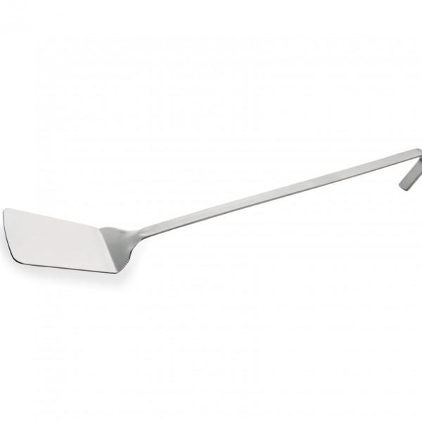 Backschaufel, geschlossen, 38 cm, Chromnickelstahl
