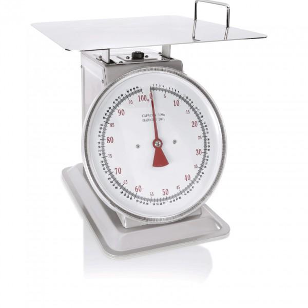 Waage bis 100 kg, Metallgehäuse lackiert