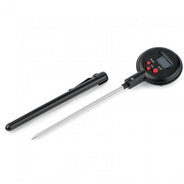 Digitalthermometer, wasserdicht, schwarz