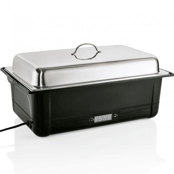 Elektro Chafing Dish GN 1/1, 58 x 35 x 27 cm, Kunststoff/Chromnickelstahl