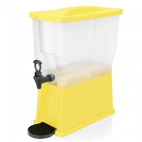 Getränkedispenser, 14 ltr., gelb, Polypropylen