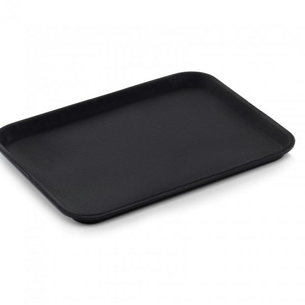 Tablett GN 1/2, schwarz, Polypropylen