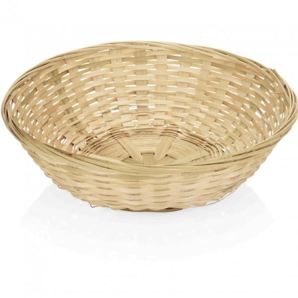 Brotkorb, Ø 20,0 cm, Bambus