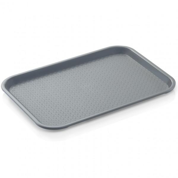 Tablett, 45,3 x 35,5 cm, lichtgrau, Polypropylen