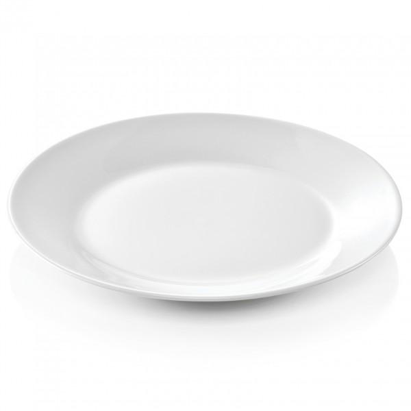 Teller, flach, Ø 19,0 cm, Porzellan