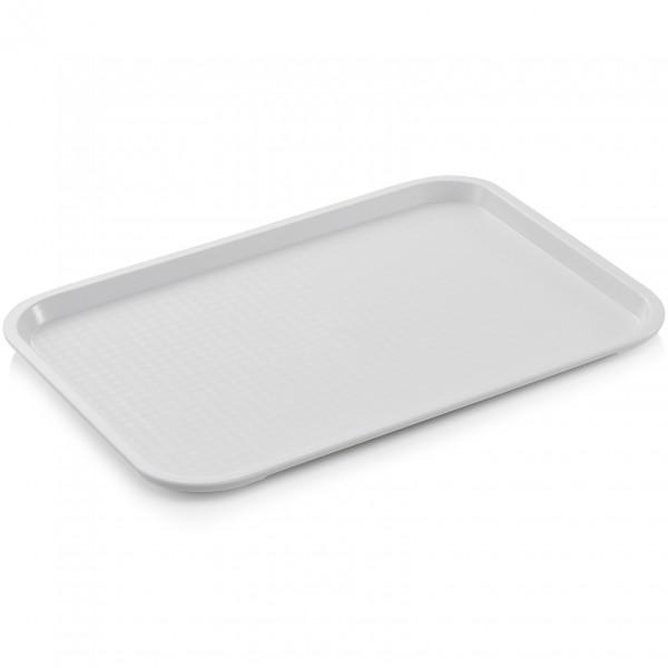 Tablett, 45,5 x 35,5 cm, elfenbein, Polypropylen