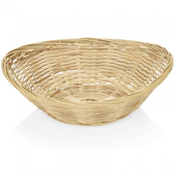 Brotkorb, 20 x 15,5 x 5,0 cm, oval, Bambus