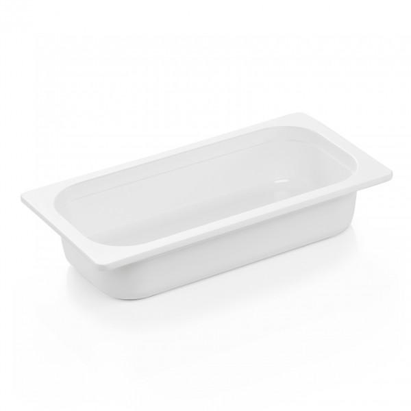 GN Behälter 1/3-065 mm, weiß, Melamin, Eco