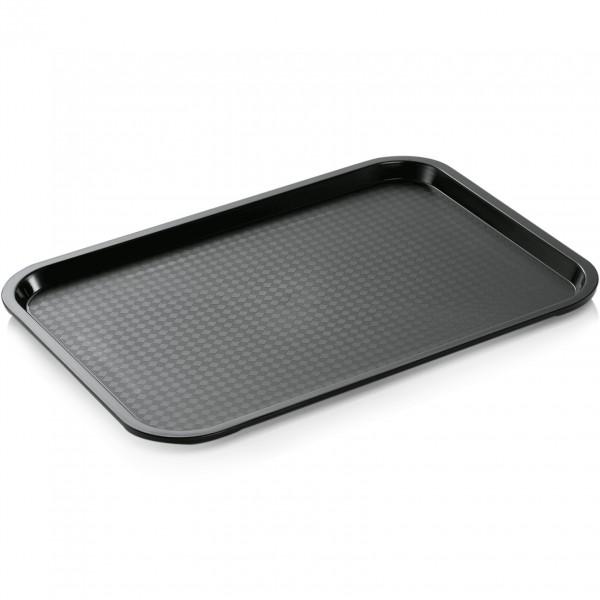 Tablett, 45,5 x 35,5 cm, schwarz, Polypropylen