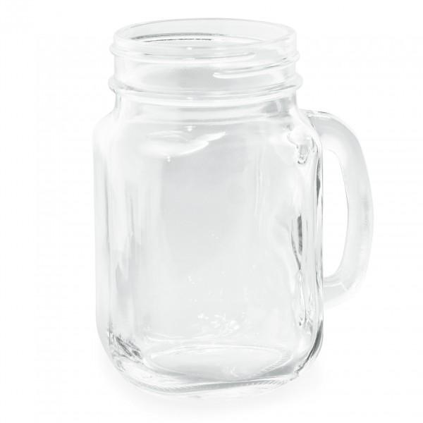 Trinkglas mit Henkel, 0,45 ltr.