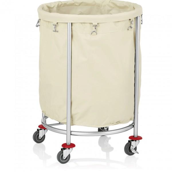 Wäschewagen, Ø 60 cm, Stahl pulverbeschichtet