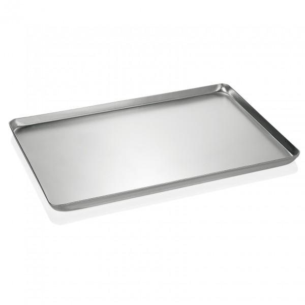 Backblech/Ausstellblech, gebeizt, 40 x 25 x 2 cm, Aluminium