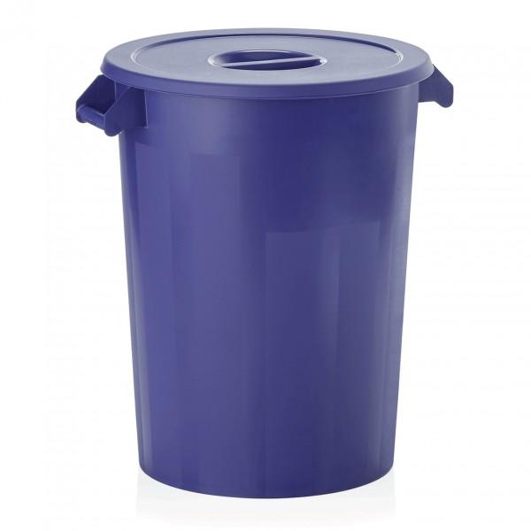 Zutaten-/Lagerbehälter, blau, 100 ltr., Polyethylen