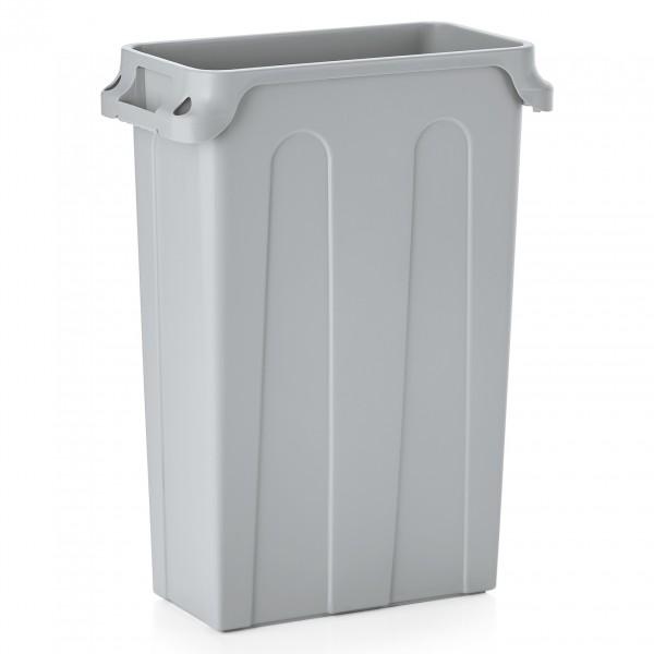 Abfallbehälter, 75 ltr., 56,5 x 28 x 75,5 cm, Polyethylen