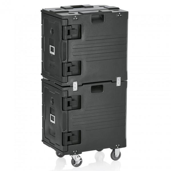 Doppelthermotransportbehälter GN 1/1, 68 x 48 x 135, Kunststoff mit PU-Isolierung