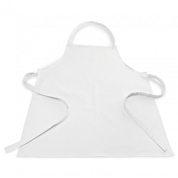 Kochschürze mit Latz, 80 x 70 cm, Baumwolle